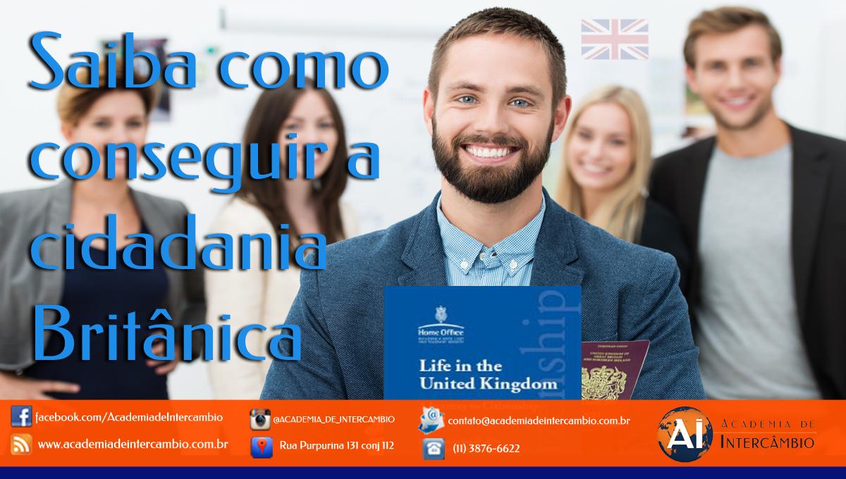 Como conseguir a cidadania Britânica