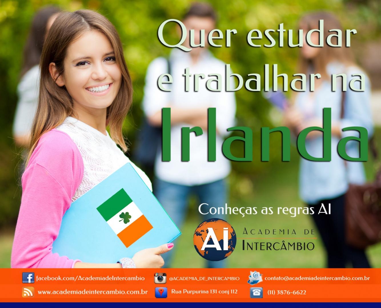 As regras do estudo e trabalho na Irlanda