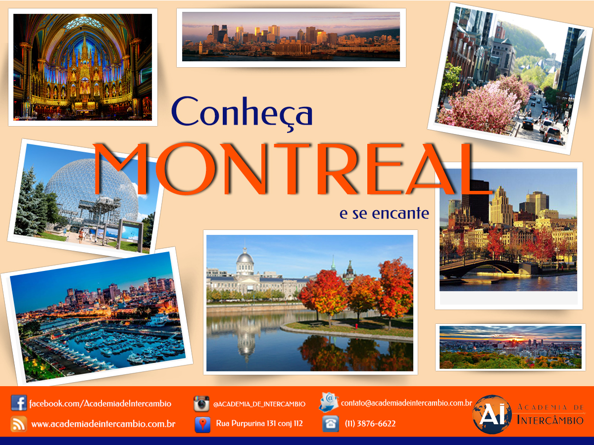 Guia de Montreal da Academia de Intercâmbio