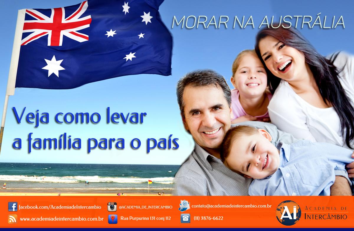 Como levar a família para a Australia